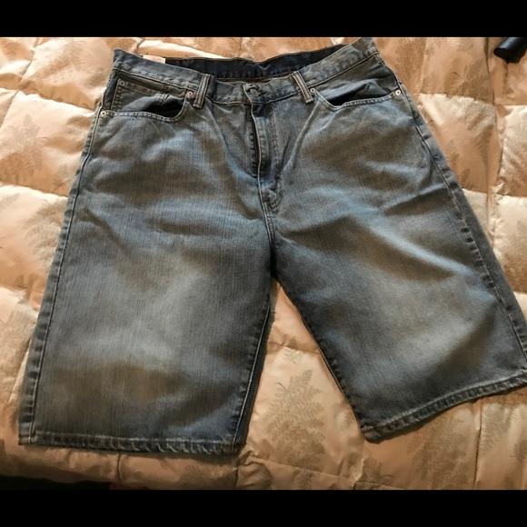 Levi's Pants - Levis blue Jean shorts